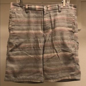Other - Multicolor striped men's walking shorts. Size 32W
